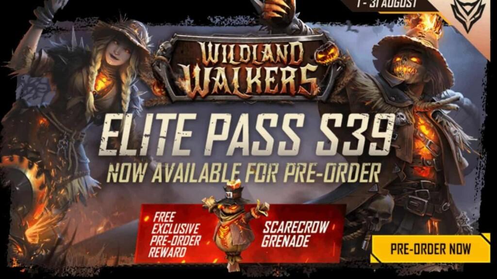 Free Fire Elite Pass S39