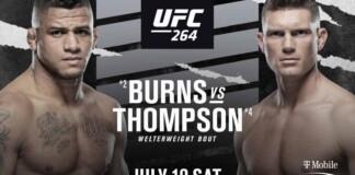 Gilbert Burns vs Stephen Thompson Prediction