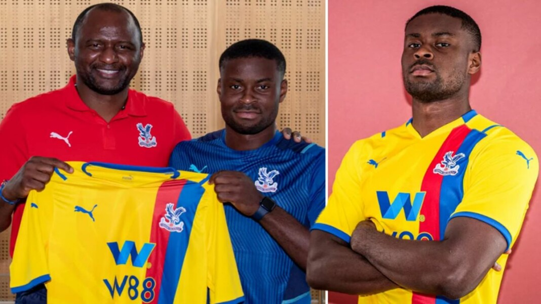 Marc Guehi signs a five-year deal with Crystal Palace