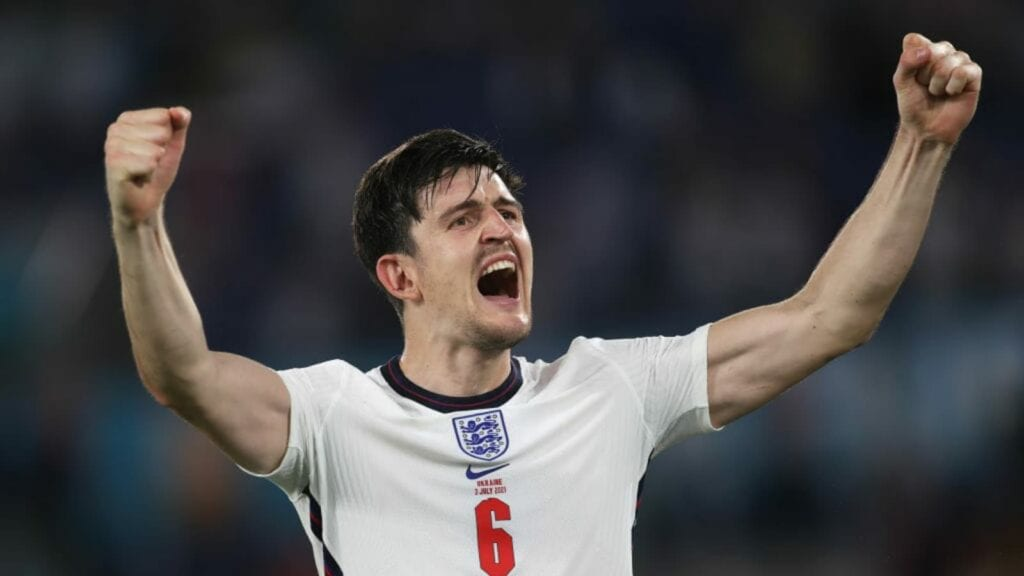 Harry Maguire the rock in England's defence