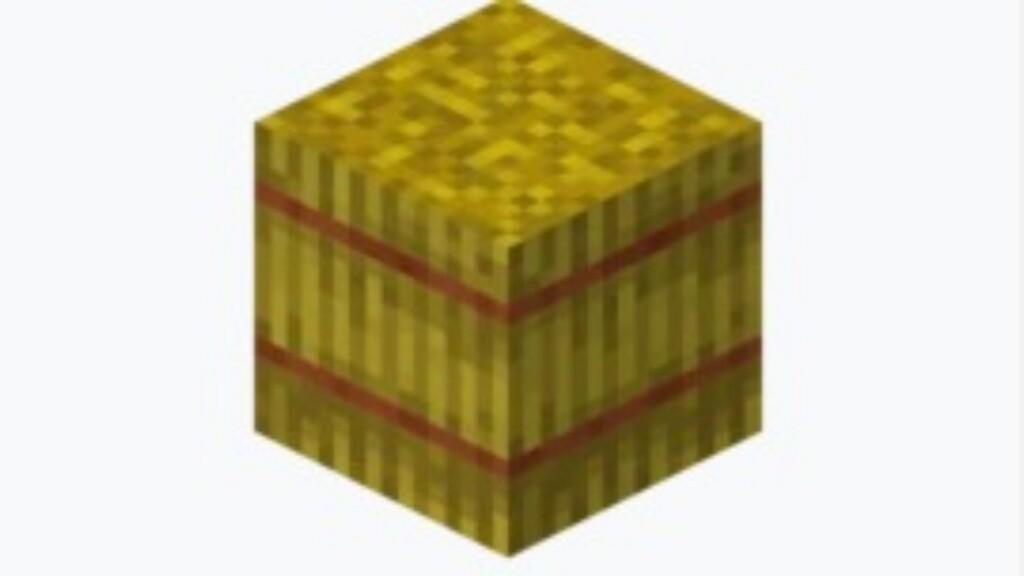 Hay Bale in Minecraft