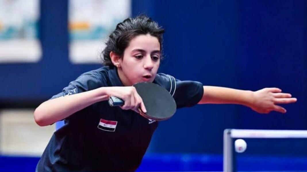 Hend Zaza, youngest athlete at Tokyo Olympics