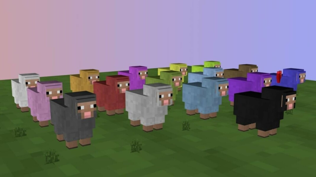 How to Dye a Sheep in Minecraft