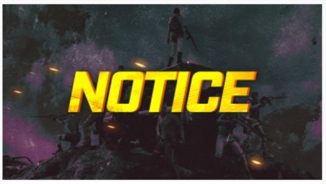 Temporary shutdown of Update Invitation event in BGMI