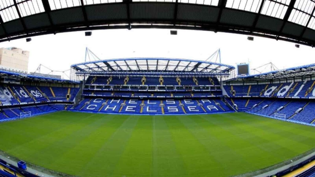 Stamford Bridge is the home ground of Chelsea FC