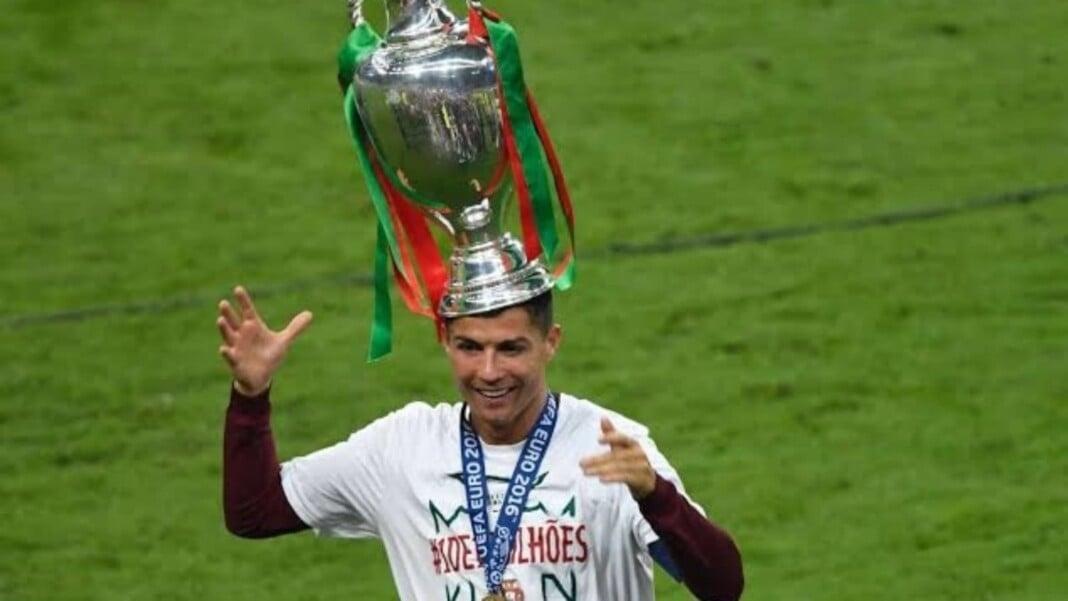 Ronaldo with Euro 2016