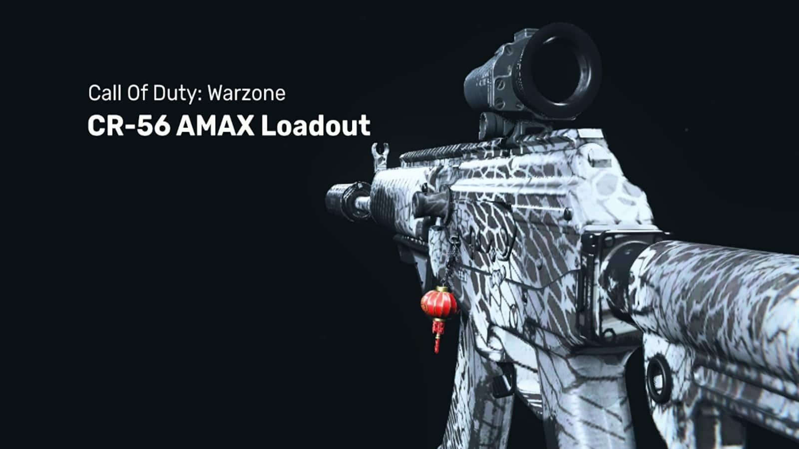 The Best CR-56 AMAX Warzone Loadout with Details