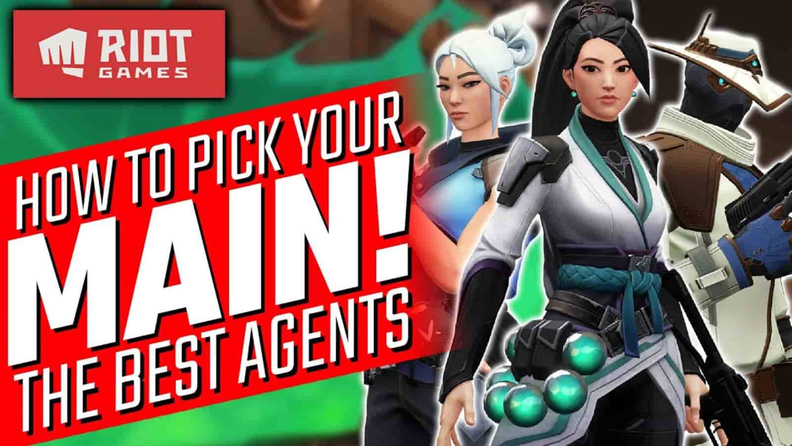How to Find Your Perfect Valorant Agent