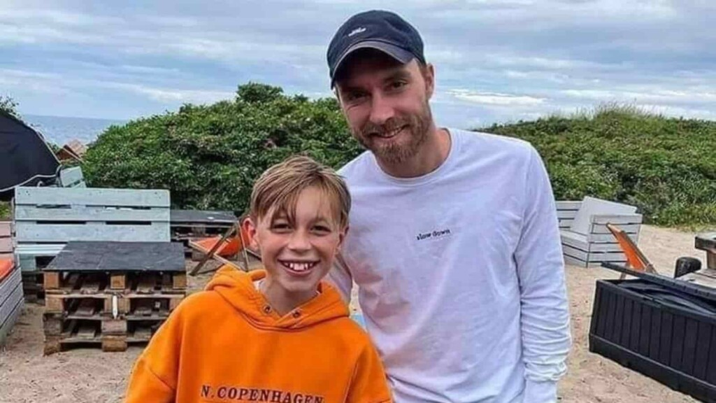 Eriksen is recovering at his home