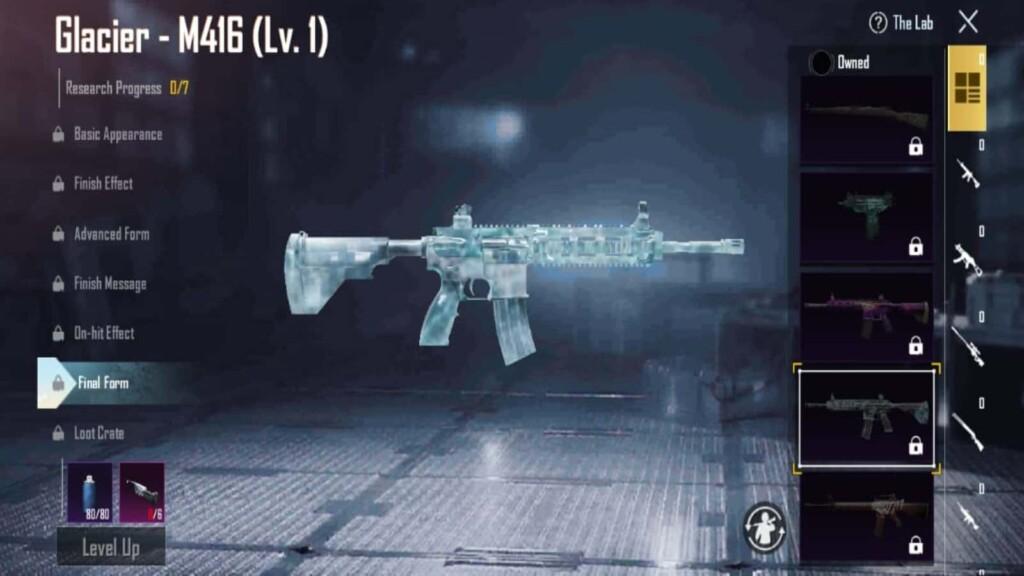best gun skins in bgmi