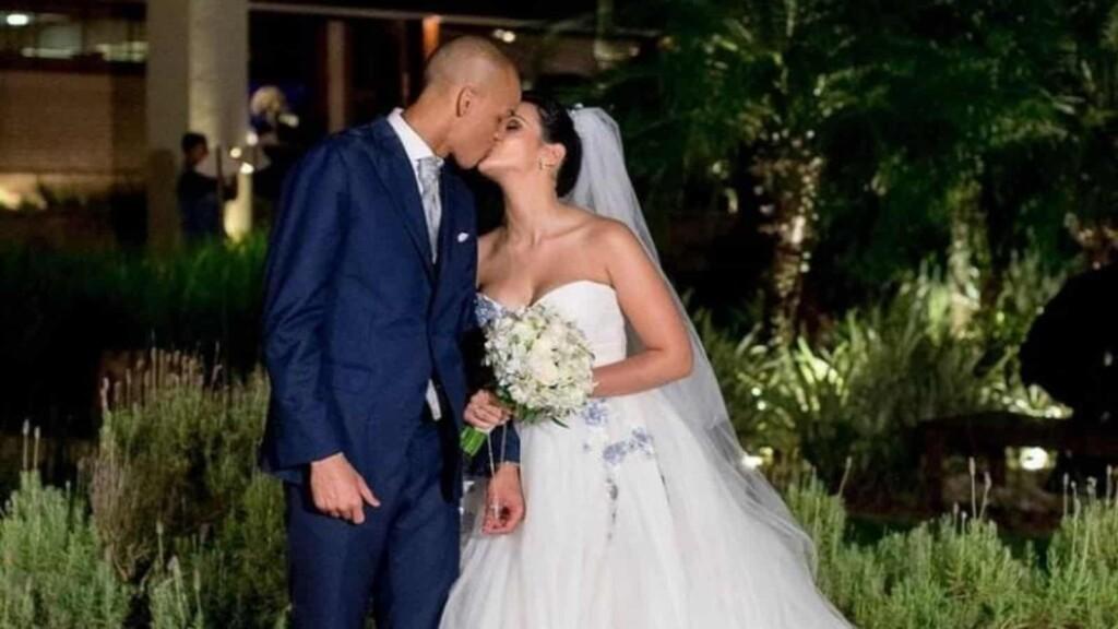 Fabinho and Rebeca married in 2015