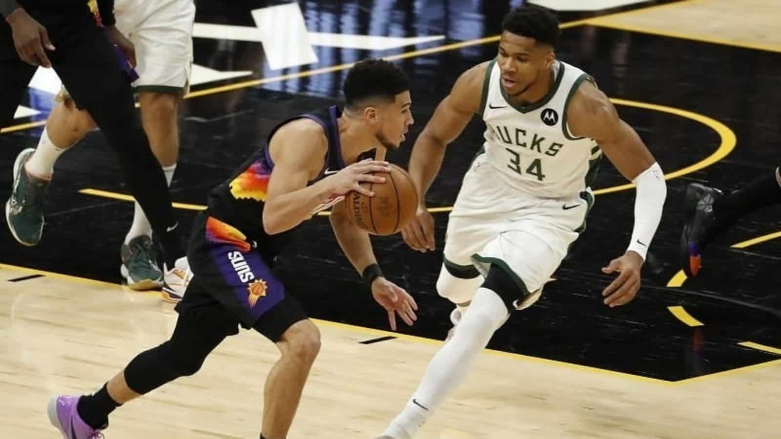 2021 NBA Finals: Phoenix Suns vs Milwaukee Bucks ...
