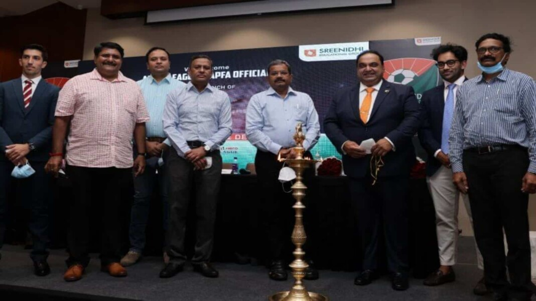Sreenidhi Deccan Football Club launched in Visakhapatnam, the latest entrants in the Hero I-League