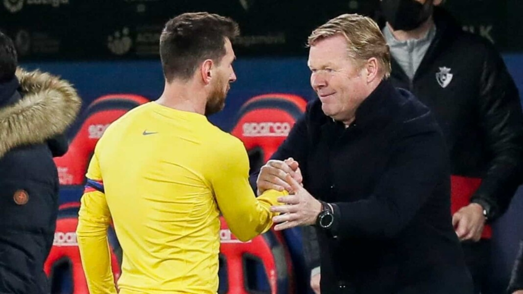 Lionel Messi is the most important man in Ronald Koeman's squad