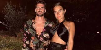 Rodrigo De Paul and his girlfriend