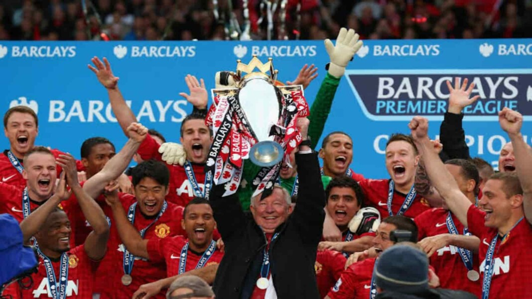 Premier League winners 2012-13- Manchester United