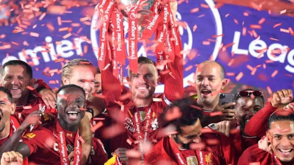 Premier League winners 2019-2020- Liverpool