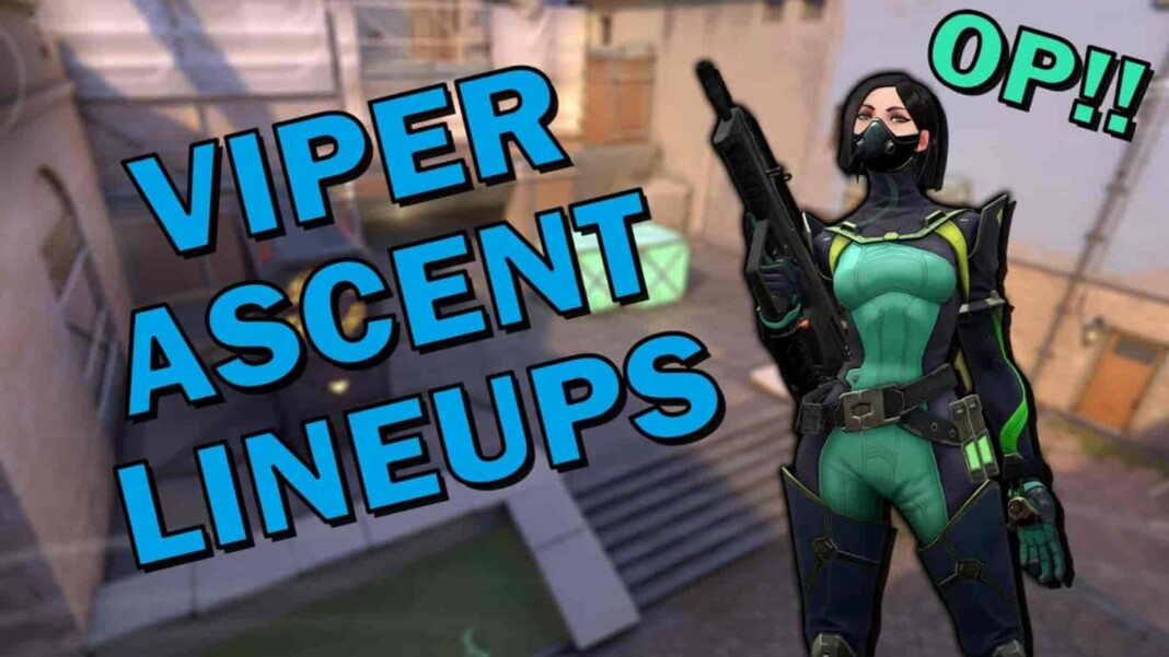 Valorant Viper Lineups Ascent Map: 4 Molly Lineups for Post Plant and Retake