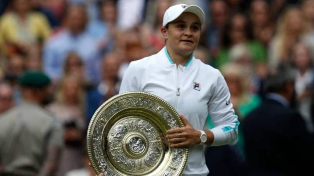 Ash Barty wins Wimbledon Championships 2021 Finals
