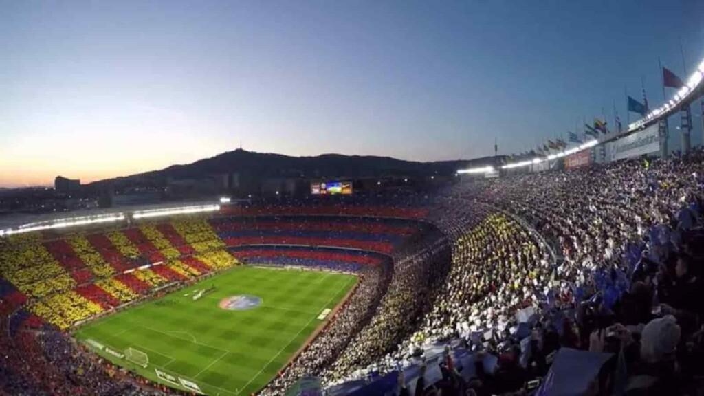 Barcelona's famous Camp Nou