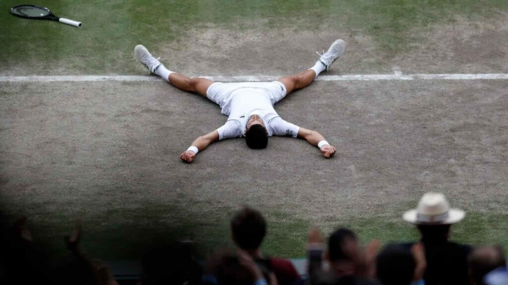 Novak Djokovic, Wimbledon Final