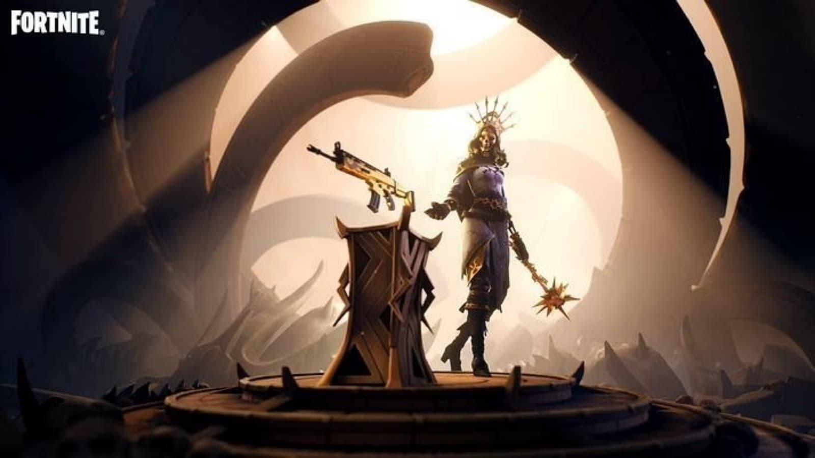 Fortnite Oro Skin: Oro and Orelia in Season 7