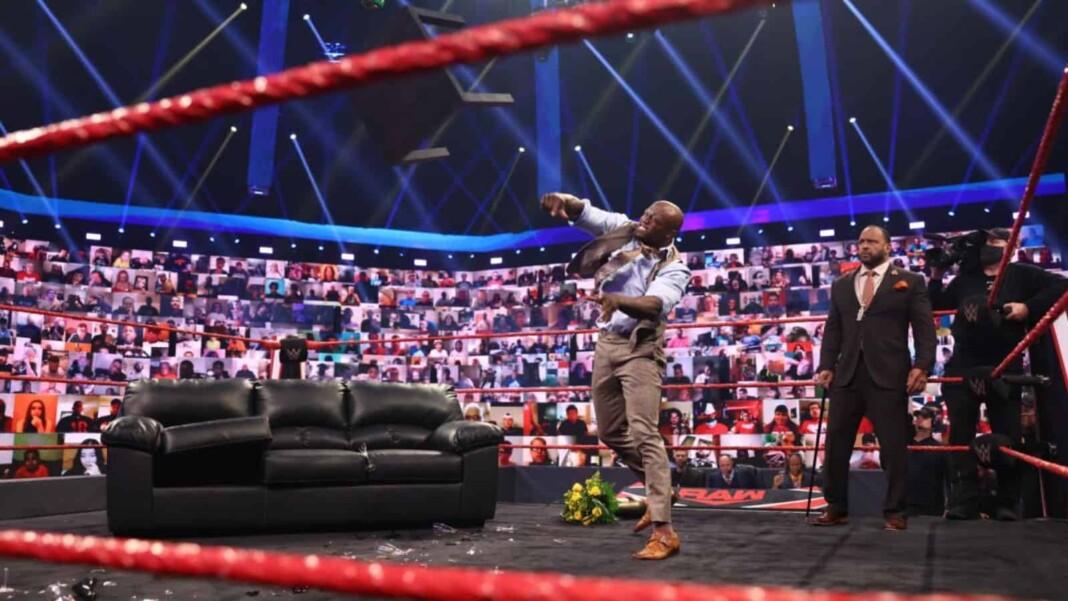 WWE Raw Results: Bobby Lashley destroys VIP Lounge set