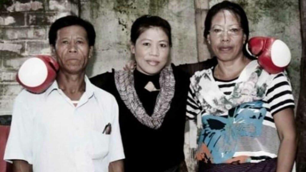 Mary Kom's Parents