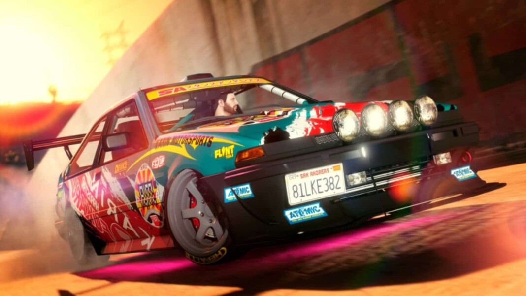 Rockstar adds long-requested drift tires to GTA 5 in the new DLC