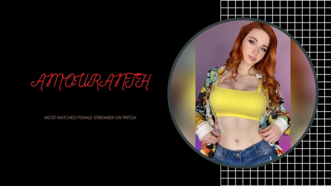 Amouranth Beats Pokimane and Valkyrae to Become the Most-Watched Streamer