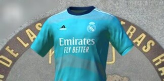 Real Madrid's third kit