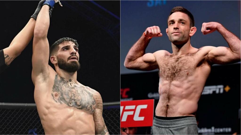 Ilia Topuria vs Ryan Hall UFC 264