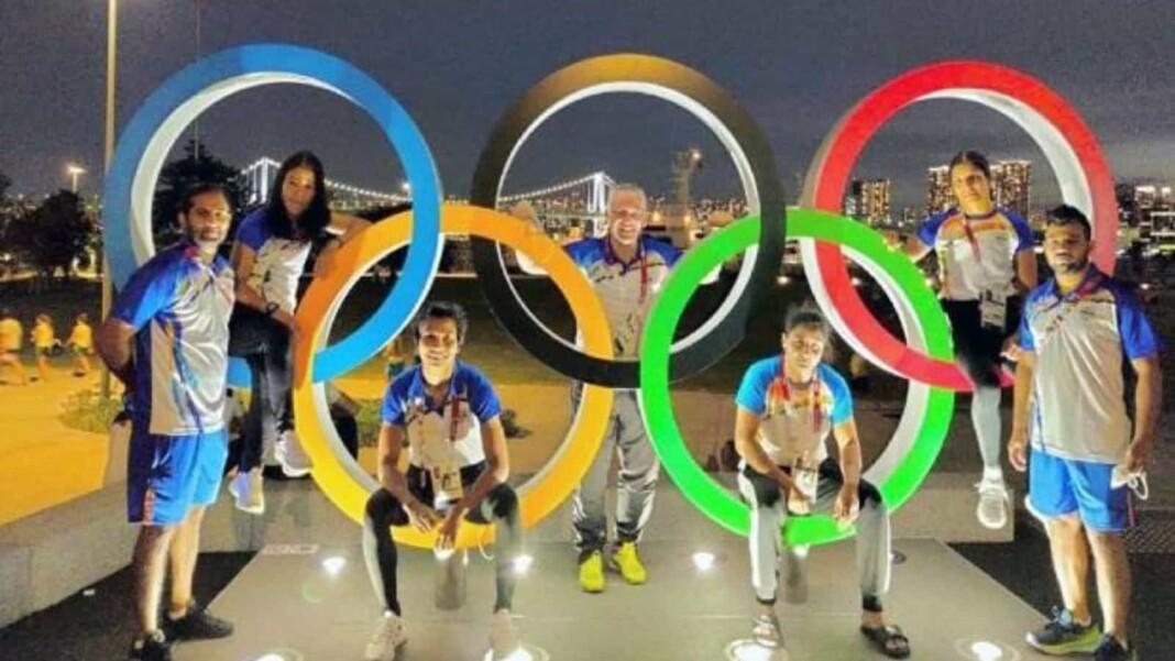India at Tokyo Olympics