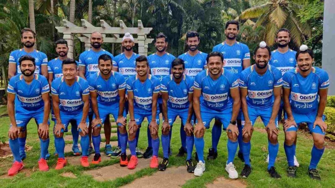 Indian Men's hockey team for Tokyo Olympics