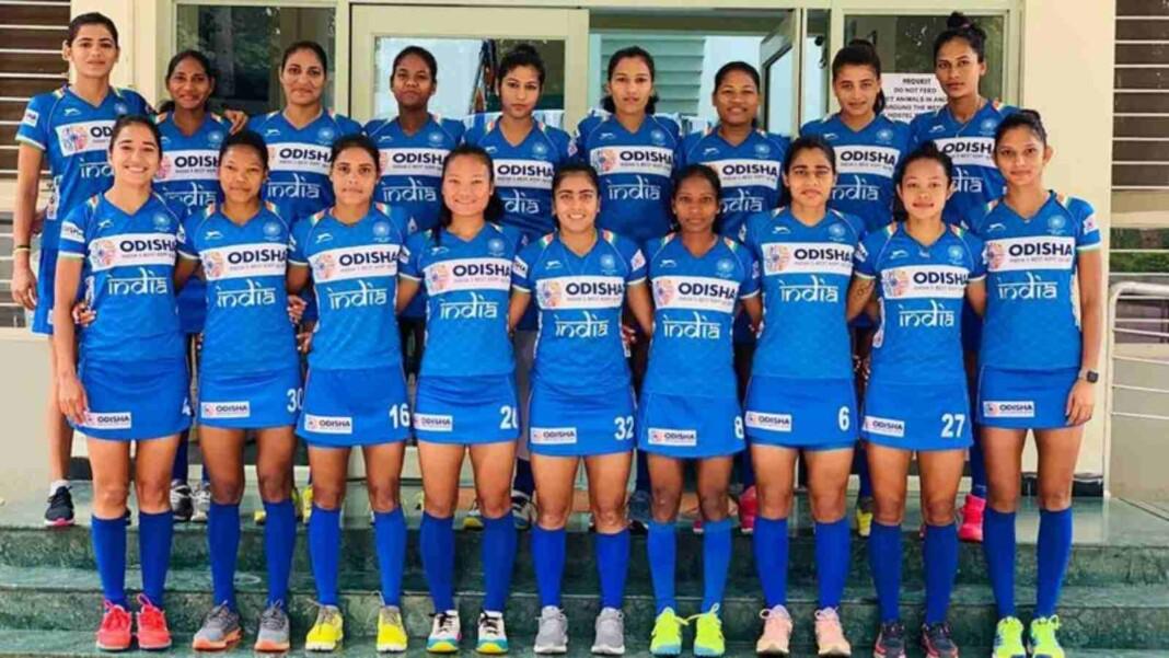 Indian Women's Hockey Team for Tokyo Olympics