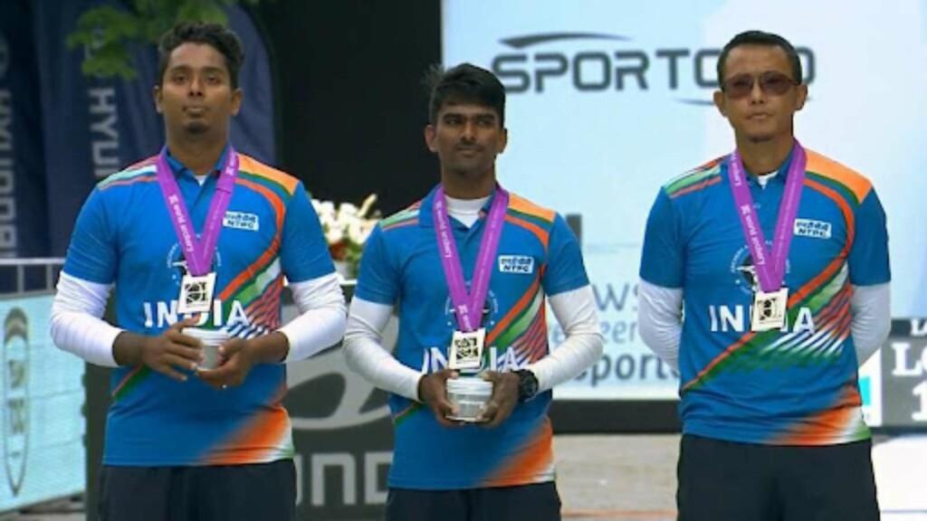 India men's archery team