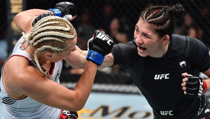 Irena Aldana vs Yana Kunitskaya