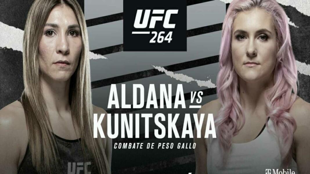Irene Aldana vs Yana Kunitskaya Prediction