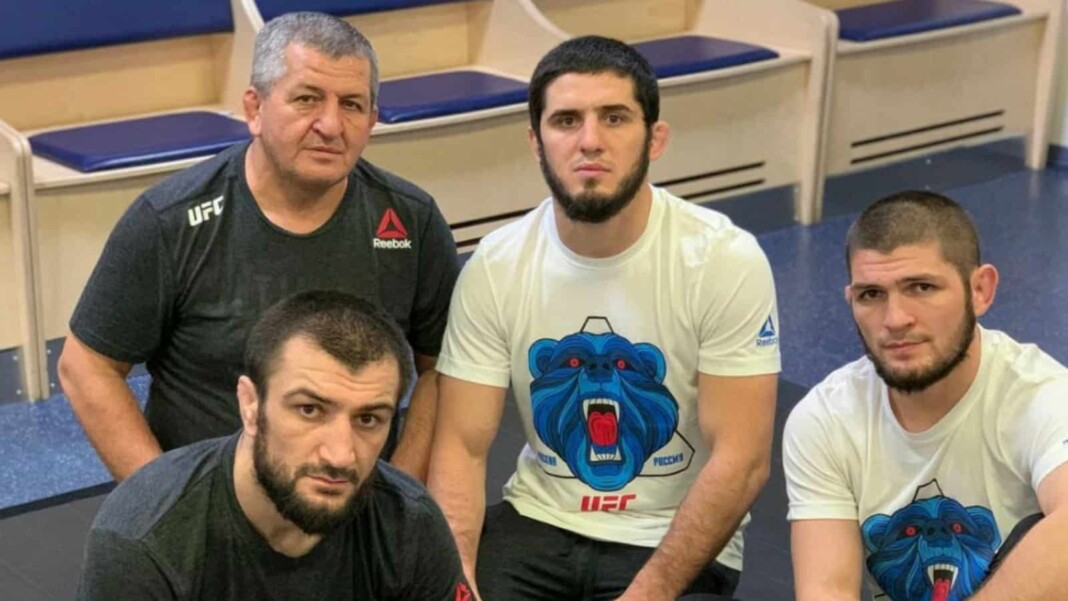 Islam Makhachev and Khabib's dad
