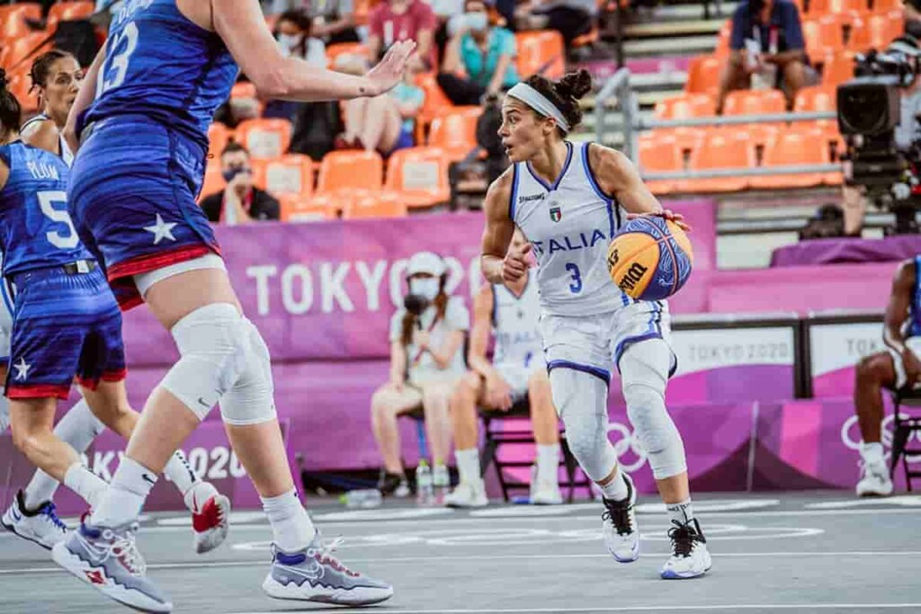 Italy Lost to USA in Womens 3v3 Basketball on day 3 1 - FirstSportz