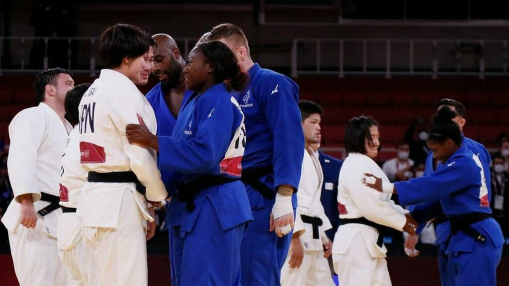 Japan Judo Team Tokyo Olympics