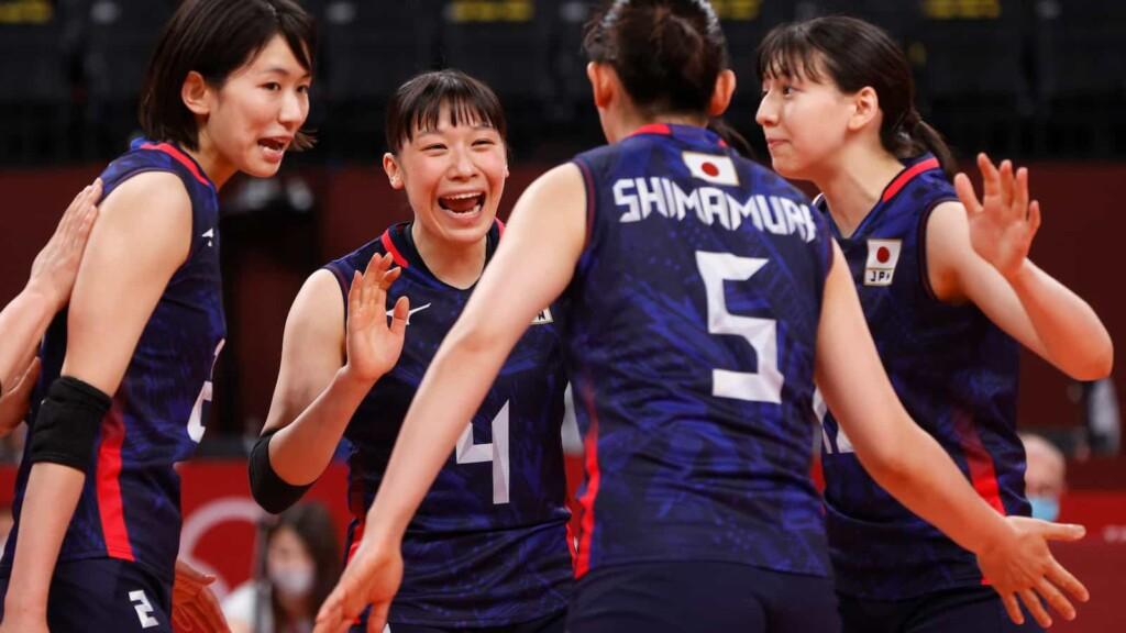 Japan Women Volleyball Team