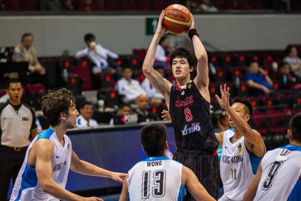 Japan in Action in 3v3 Basketball 1 - FirstSportz