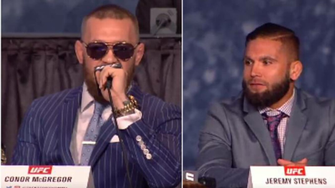 Jeremy Stephens and Conor McGregor