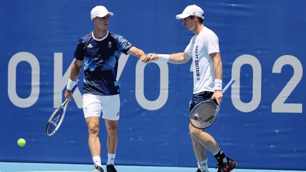 Andy Murray and Joe Salisbury
