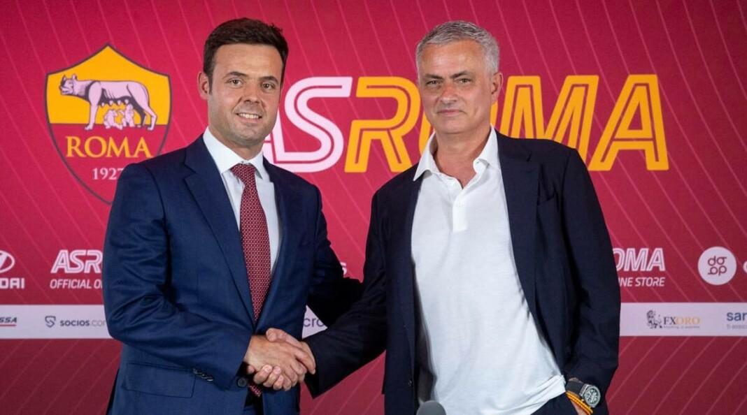 Jose Mourinho at AS Roma