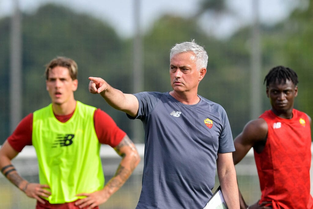 Jose Mourinho starts his job at AS Roma