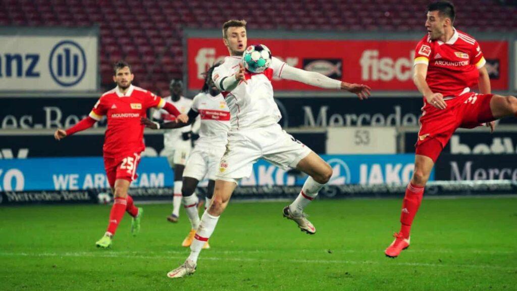 Kalajdzic in action for Bundesliga outfit Stuttgart - FirstSportz