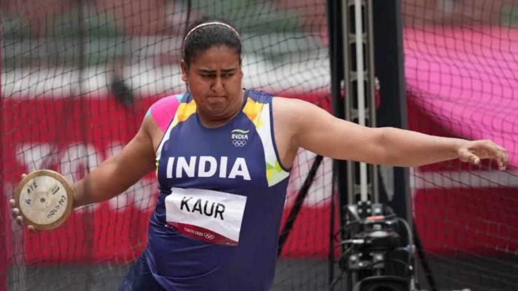 Kamalpreet Kaur; Athletics at Tokyo Olympics
