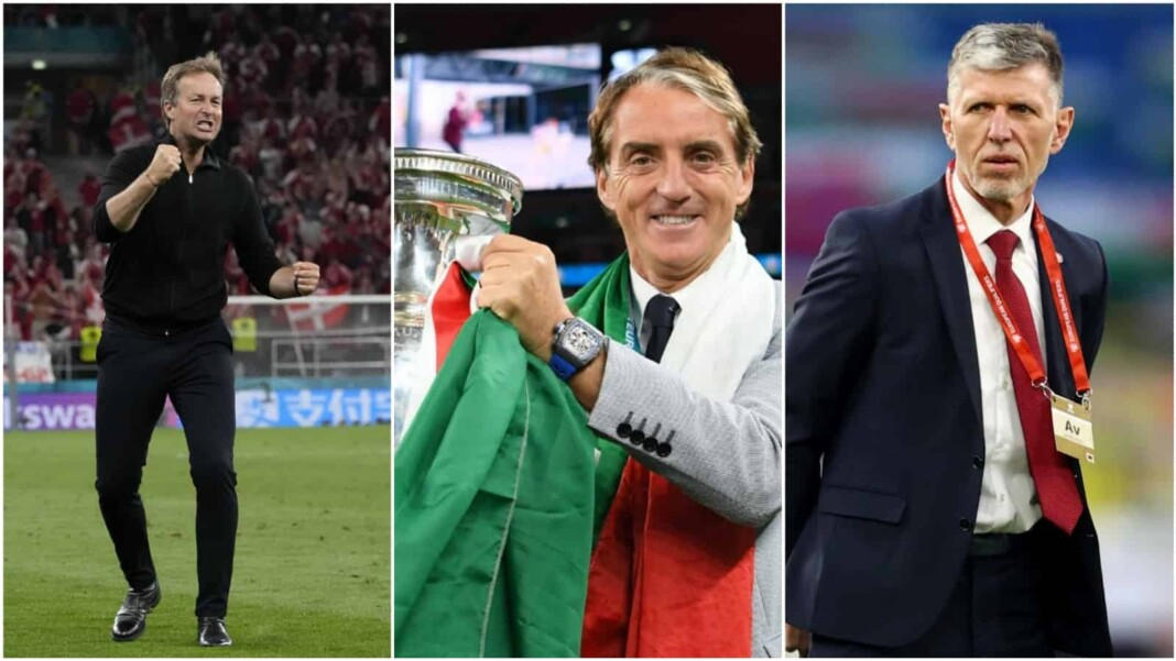 Five best managers at EURO 2020